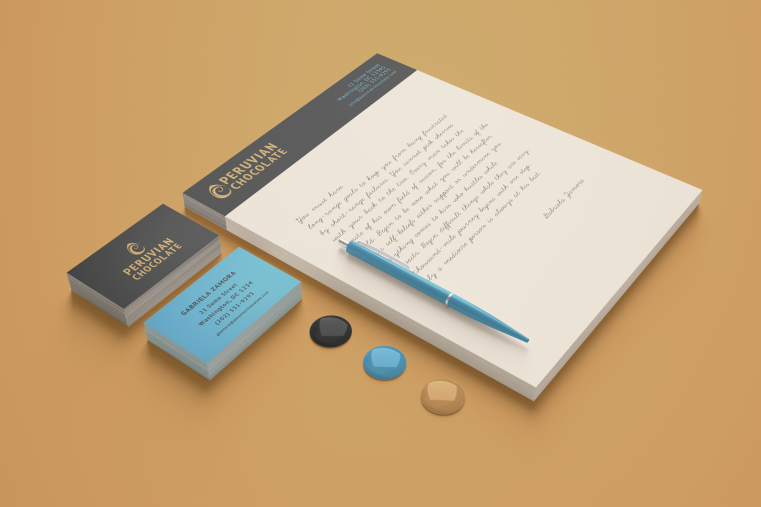Photo of stationery design